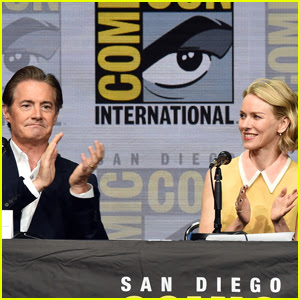 Kyle MacLachlan & Naomi Watts Bring 'Twin Peaks' to Comic-Con 2017