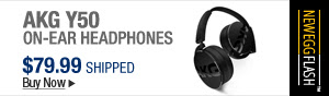 Newegg Flash - AKG Y50 On-Ear Headphones