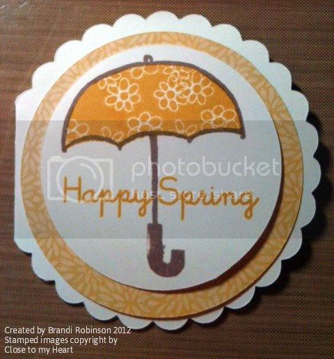 Think Spring Card