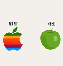 Image result for needs vs wants