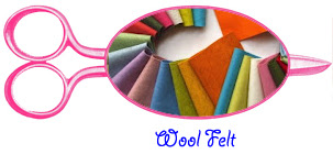 wool felt for dolls and softies