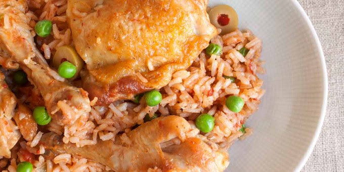 Latin-Style Rice and Chicken