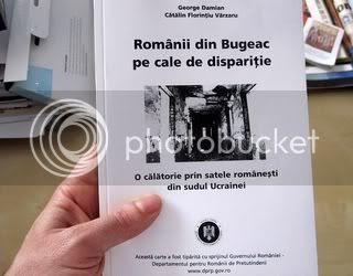 Lansare de carte, Românii din Bugeac, cale de dispariţie, sudul Basarabiei, George Damian, DRP