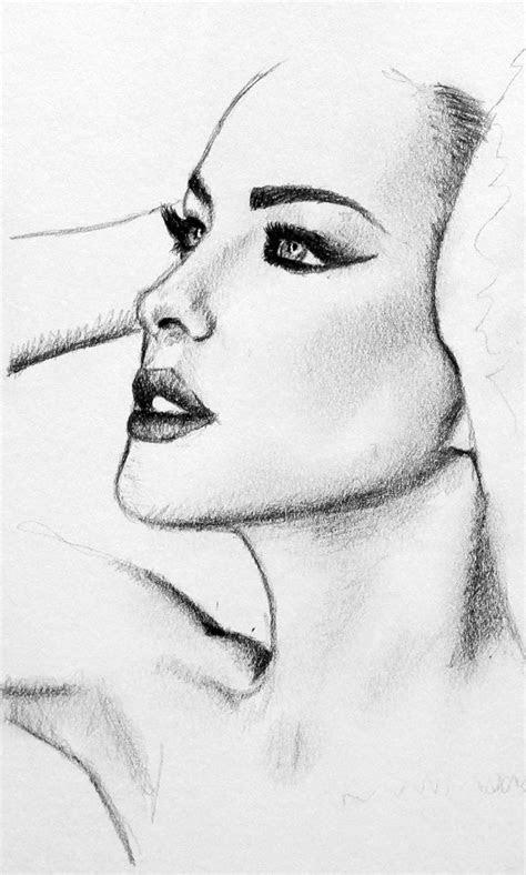 pencil portrait drawing  john gordon  graphite