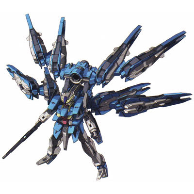 First 00P kit was 1.5 Gundam, not this Astraea :P