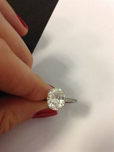 147 best Ring: Oval Engagement Rings images on Pinterest
