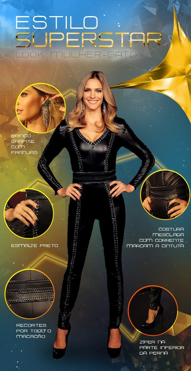 Look Fernanda Lima (Foto: SuperStar / TVGlobo)