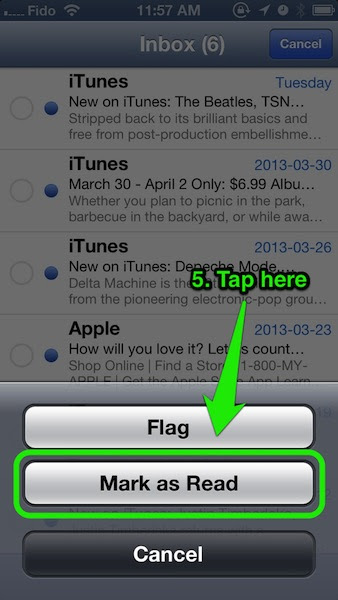 How To: Mark All Emails as Read in Mail on iPhone in ...