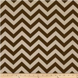 Premier Prints ZigZag Village Brown/Natural