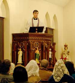 preaching from the pulpit