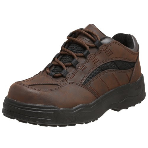 Worx By Red Wing Shoes Women's Non-Metallic Safety-Toe Athletic Oxford,Brown,11 M US