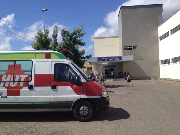 Hospital de Urgência de Teresina   (Foto: Gilcilene Araújo/G1)