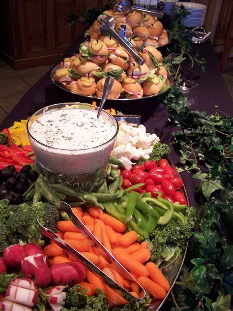 Appetizer Only Wedding Reception   Designed by Elegant