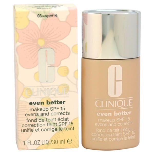 Clinique makeup even better 03 ivory