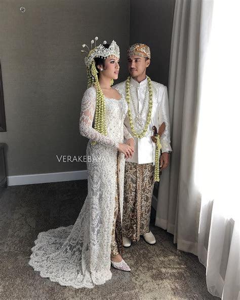 ningrat mewah  kebaya cantik  pernikahan adat sunda