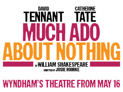 David Tennant and Catherine Tate in Much Ado About Nothing