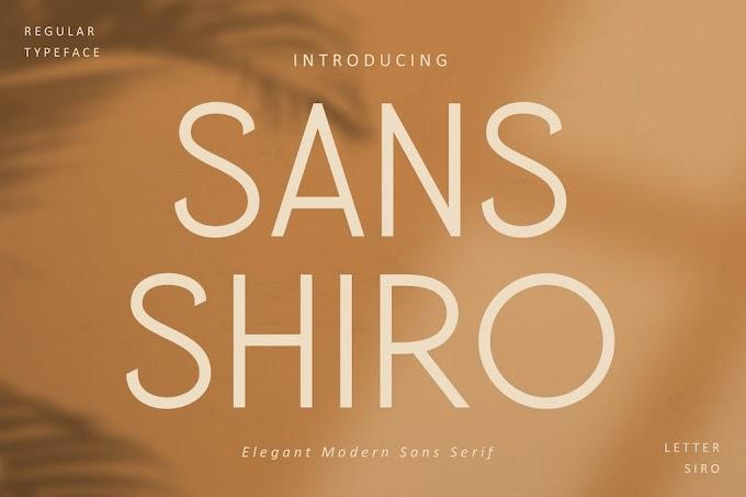 Sans Shiro Font