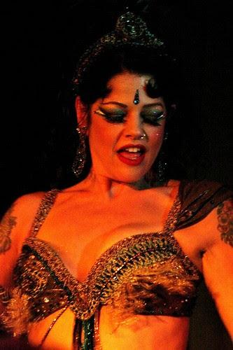 Princess Farhana at the Belly Dancing & Burlesque Northampton