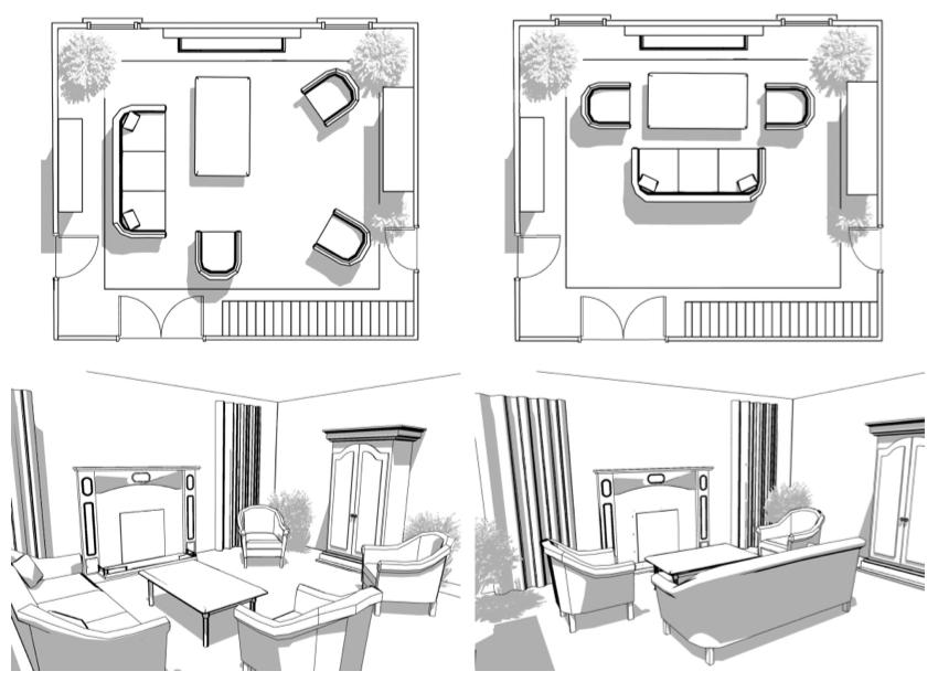 Interior Furniture Layout Design, Interior Design Furniture Placement