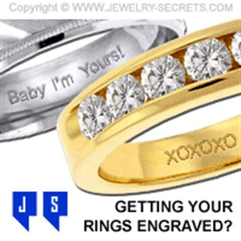 WHAT SHOULD YOU GET ENGRAVED IN YOUR RING? ? Jewelry Secrets