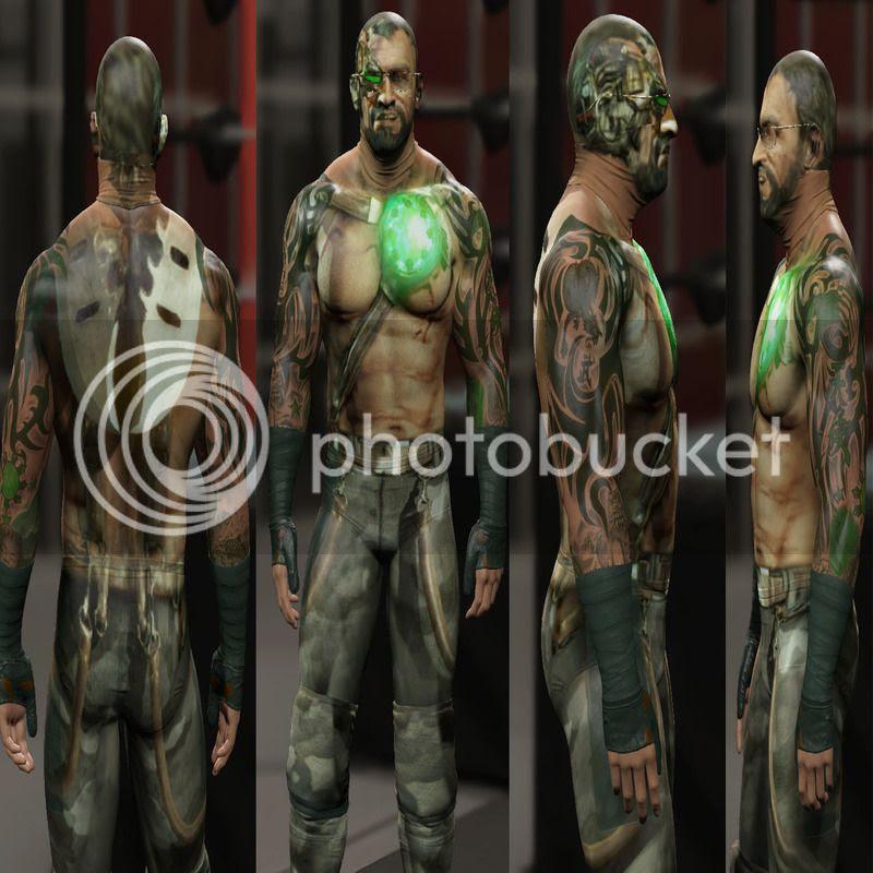 collection image wallpaper: Mortal Kombat 3d Models Download