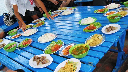 food on cruise