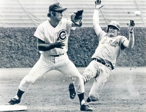 thestrawthatstirsthedrink:<br /><br />Ron Santo meets Rusty Staub<br />