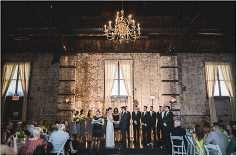 {brooke mike} green building wedding   brooklyn