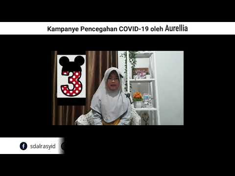 Kampanye Pencegahan COVID 19 oleh Aurellia