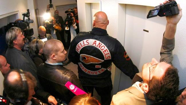 Frank Habebuth, Hells Angels-leder i Europa (Foto: CHRISTIAN CHARISIUS/Reuters)