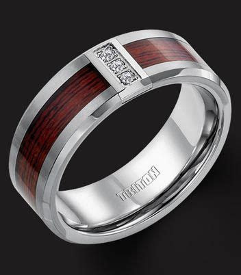mens rings wood inlay   Home : Catalog Home : Rings : Men