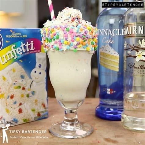 Tipsy Bartender ? Funfetti Cake Batter Martini #cake #