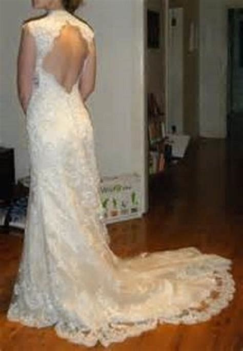 Maggie Sottero Ivory Over Champagne Lace Bernadette