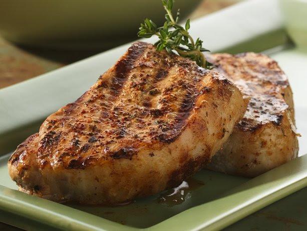 Chili-Ranch Grilled Pork