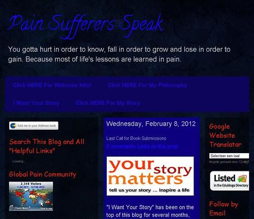 Pain Suffers Speak by totemtoeren