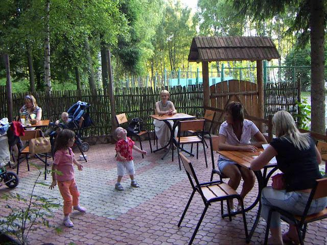 The Lemkivskyj Dvir Restaurant in Ternopil, Western Ukraine