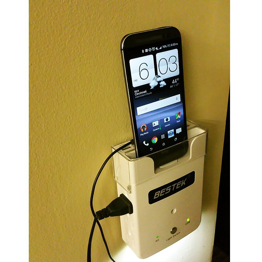 Bestek Cell Phone Wall Charging Station For Apple USB ...