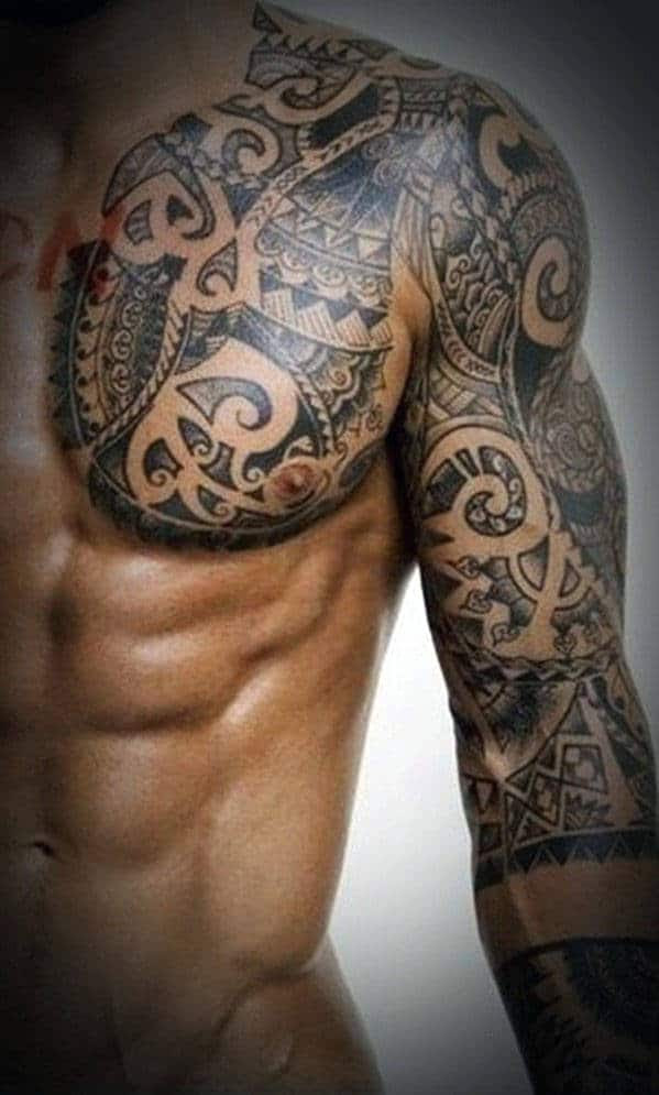Top 60 Best Tribal Tattoos For Men Symbols Of Courage