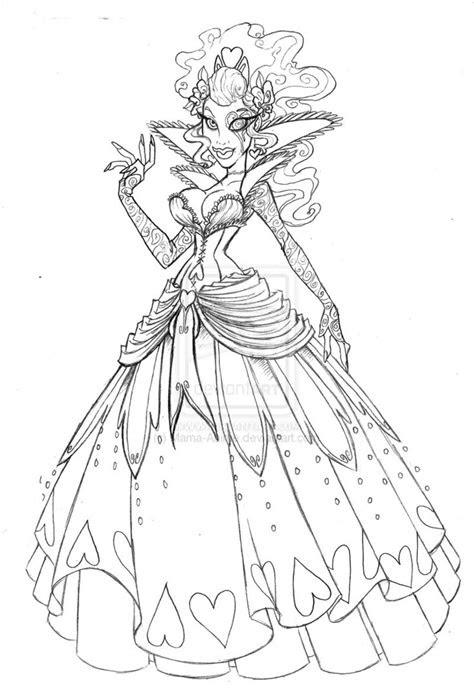 wonderland  heartless queen  sankofarida  deviantart