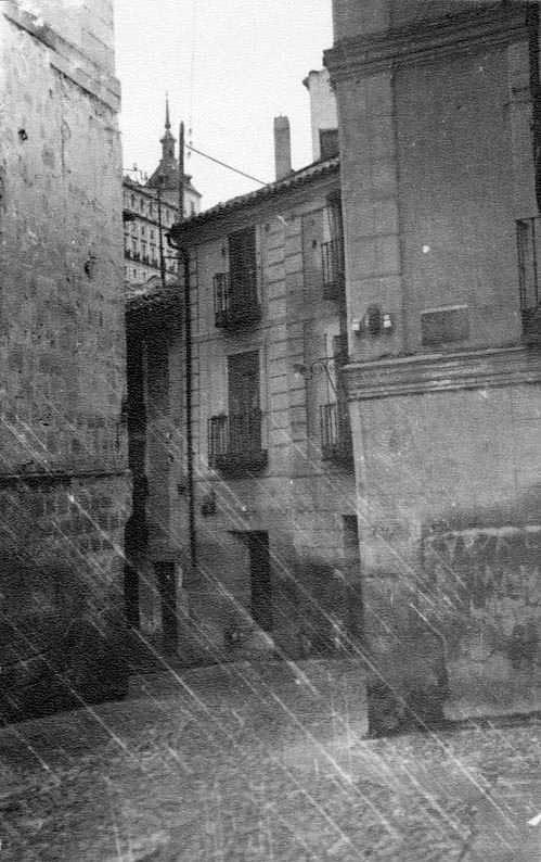 Calle Cardenal Cisneros en 1935. Fotografía Josep Gaspar i Serra © Arxiu Nacional de Catalunya. Signatura ANC1-23-N-1572