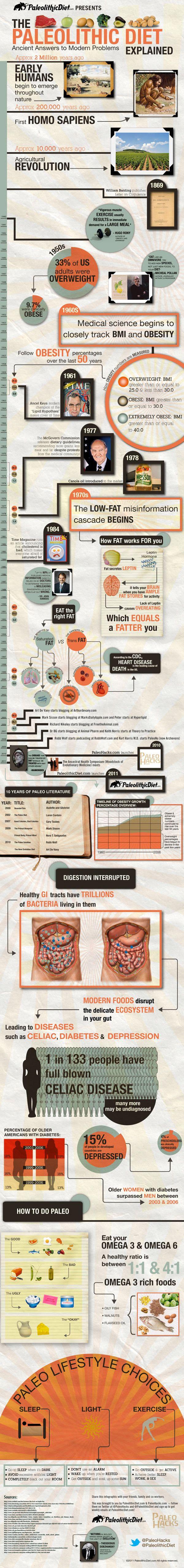 The Paleo Diet Infographic!
