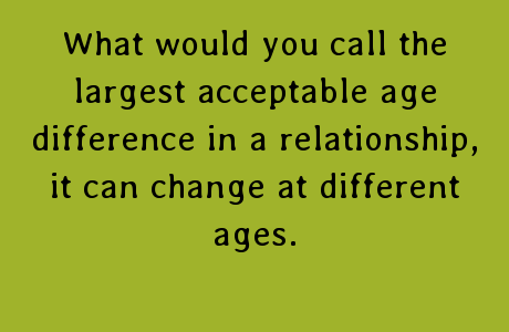 Quotes About Big Age Difference 21 Quotes