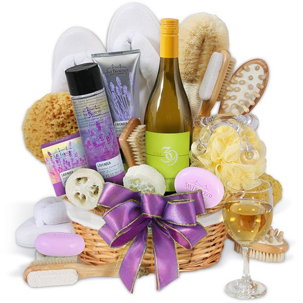 Valentines Gifts for her, Pampering, spa day, Gourmetgiftbaskets.com