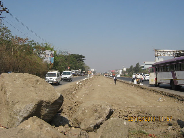 Widening of Mumbai Bangalore Bypass, Indira Institute, Wakad, Pune 411 057