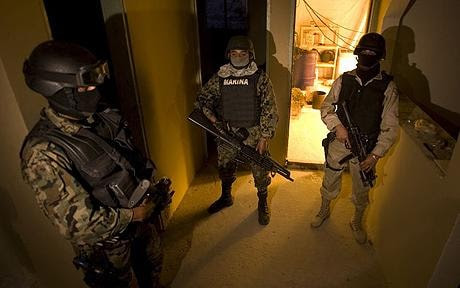 Mexico drugs bust: Mexico in danger of collapse, says US army