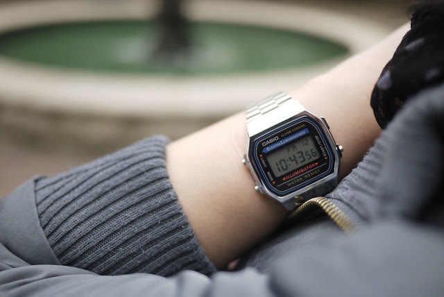 Style Musings: Casio Retro Watch