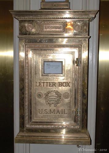 Hawthorne Hotel Lobby Mailbox
