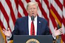 Trump news – live: President goes against coronavirus experts and says schools should reopen