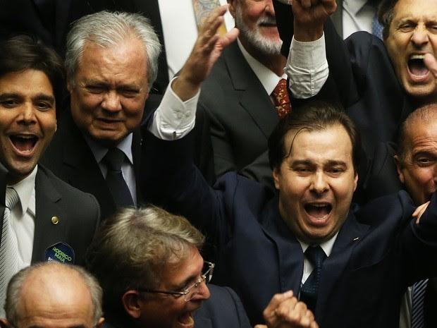 Rodrigo Maia novo presidente da Câmara dos Deputados (Foto: André Dusek/Estadão Conteúdo)