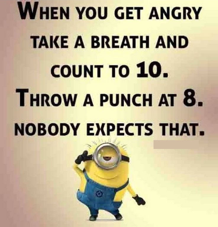 Funny Minion Quote About Anger Pictures Photos And Images For